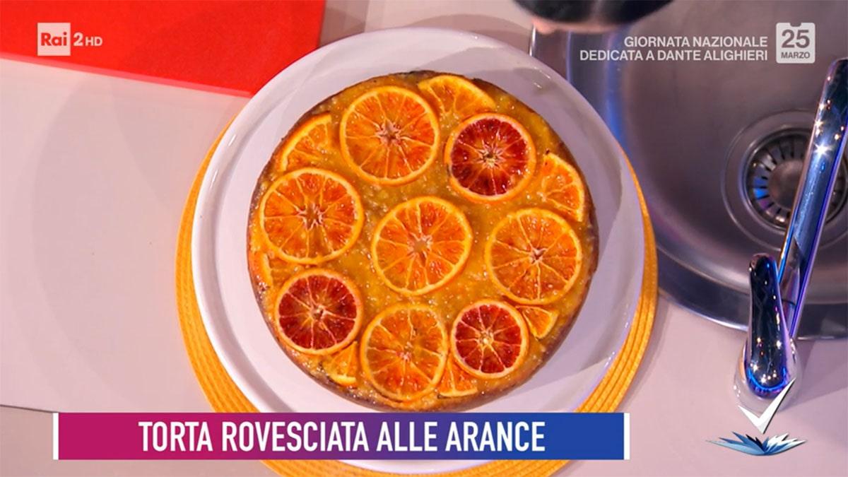 foto Torta rovesciata alle arance a Detto Fatto