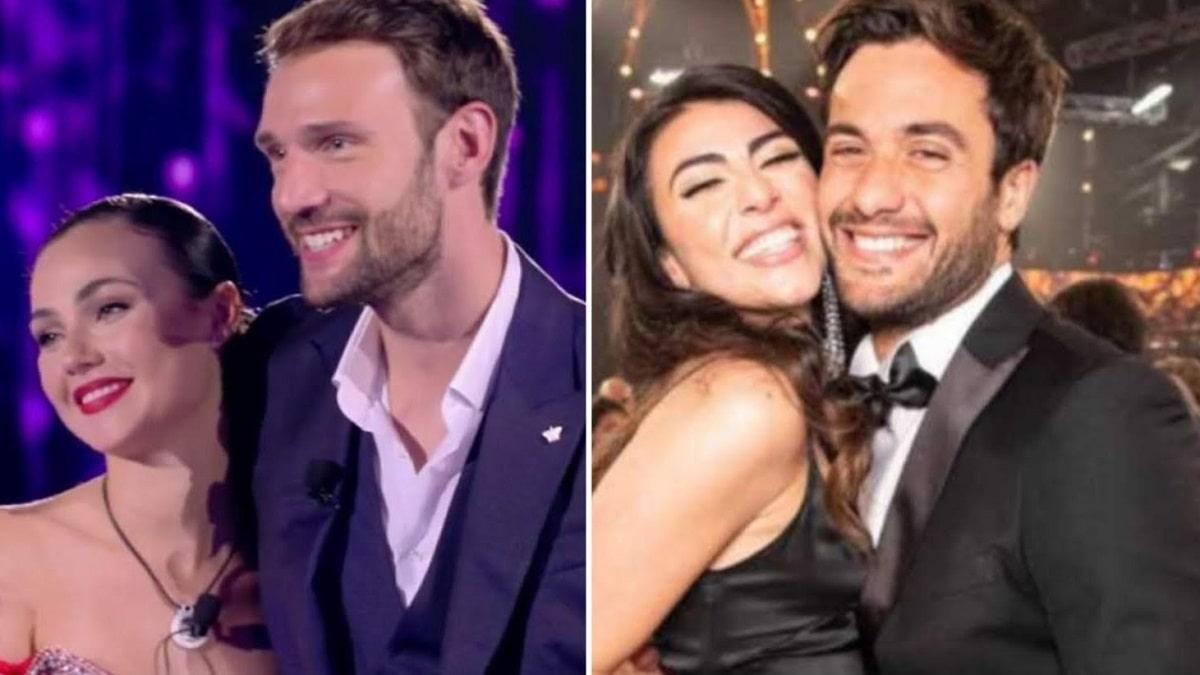 foto Andrea Zenga Rosalinda Cannavò e Giulia Salemi Pierpaolo Pretelli