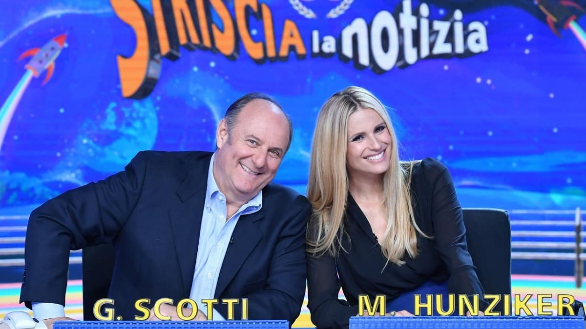 Foto Gerry Scotti Michelle Hunziker