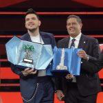 """Sanremo 2021, Gaudiano trionfa tra le Nuove Proposte: """"E' per mio papà"""""""