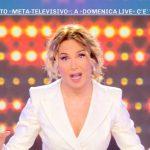 """Barbara d'Urso sugli ascolti di Domenica Live: """"Pensate che ieri…"""""""