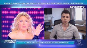 Foto Olesya Conduttore Russo Domenica Live