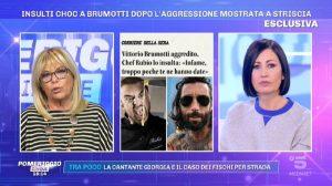 Foto Aggressione Vittorio Brumotti