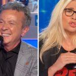 """Domenica In, Pupo stuzzica Mara Venier sui fidanzati: """"Senti chi parla"""""""