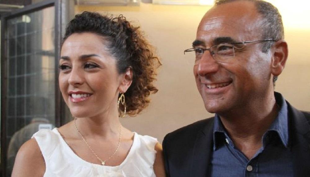 foto Carlo Conti moglie