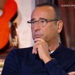 """Carlo Conti ad Oggi è un altro giorno confessa: """"Non penso di avere talento"""""""