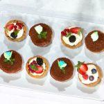 È sempre mezzogiorno: ricetta cestini di cookies con crema e frutta