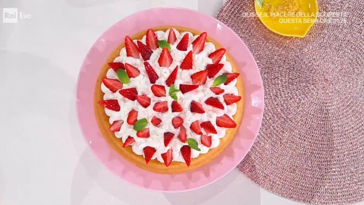 foto È sempre mezzogiorno torta furba fragole