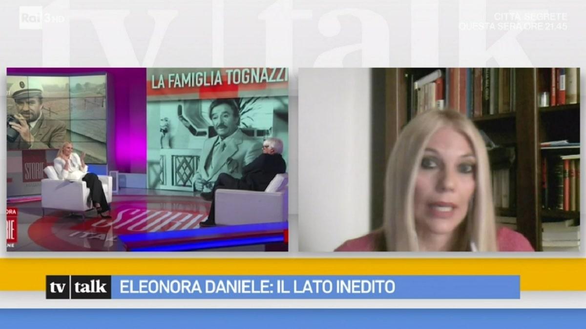 foto Eleonora Daniele tv talk