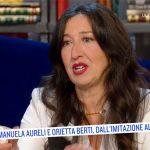 """Oggi è un altro giorno, Emanuela Aureli commossa: """"Provato tante emozioni"""""""