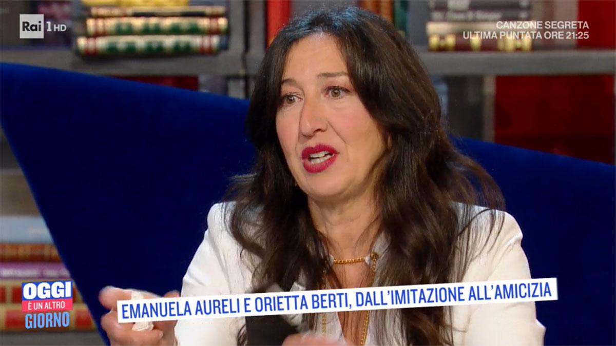 foto Emanuela Aureli a Oggi è un altro giorno