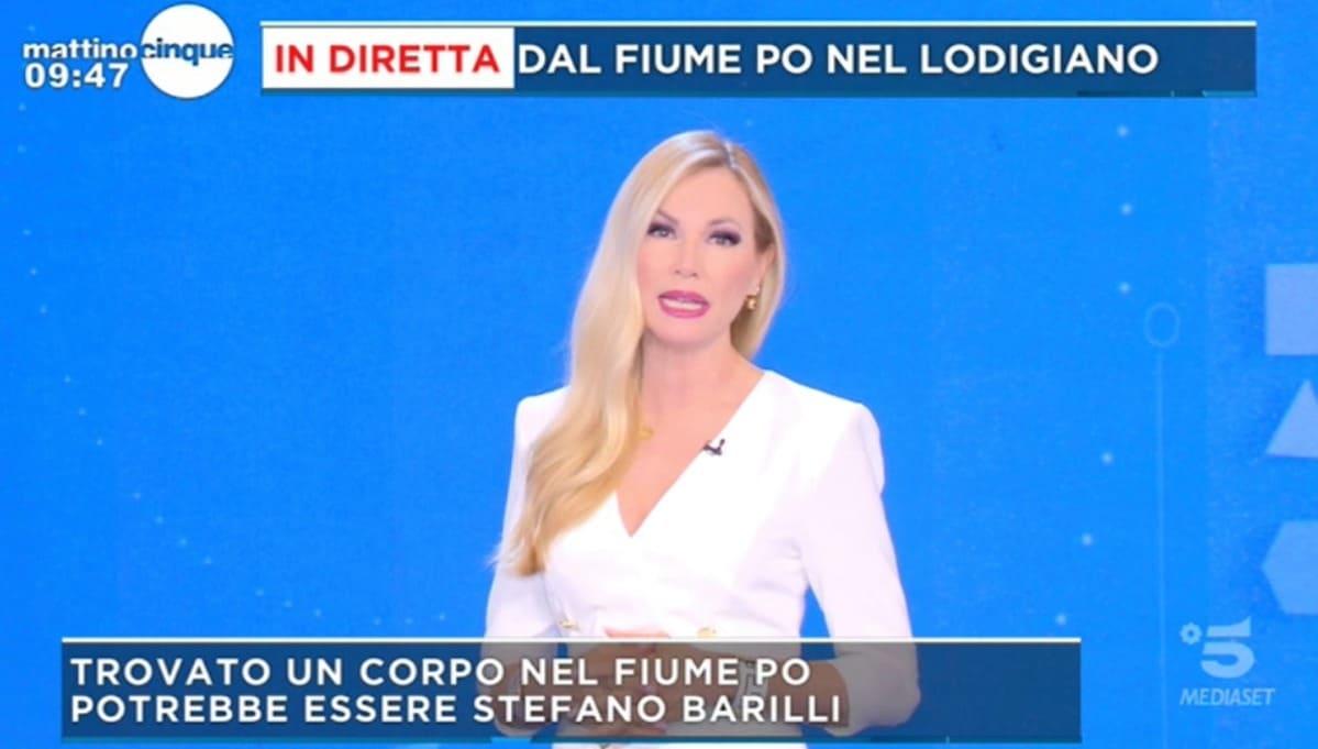 foto Federica Panicucci mattino5 imprevisto