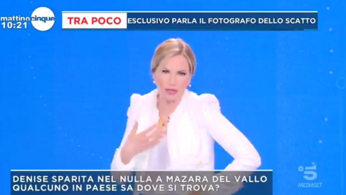 foto Federica Panicucci Mattino Cinque
