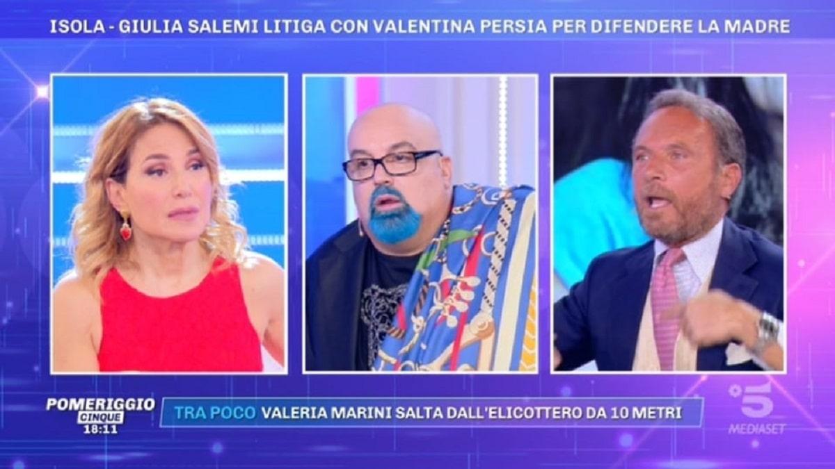 foto Ferdinando Guglielmotti Vera Gemma Pomeriggio 5