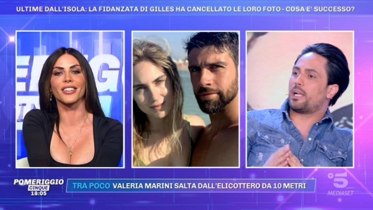 foto Biagio D'Anelli Gilles Rocca Pomeriggio 5