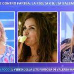 """Pomeriggio 5, Lory Del Santo contro Fariba: """"È una grande pettegola"""""""