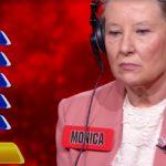 L'Eredità: va male la ghigliottina per Monica, che torna campionessa