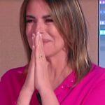 """Paola Perego in lacrime per l'intervento del figlio Riccardo: """"Mai apparso"""""""