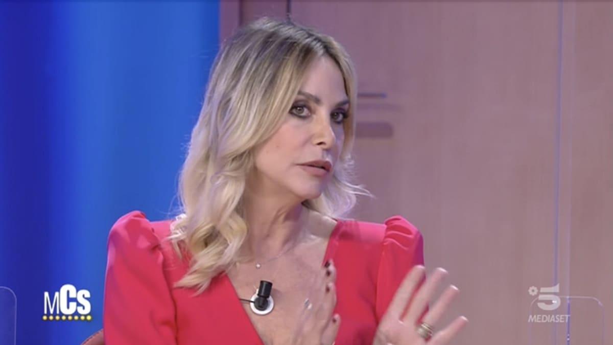 Foto Stefania Orlando Maurizio Costanzo Show