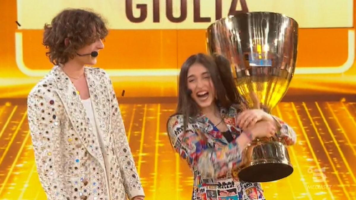 Foto Giulia Stabile Vincitrice Amici 20