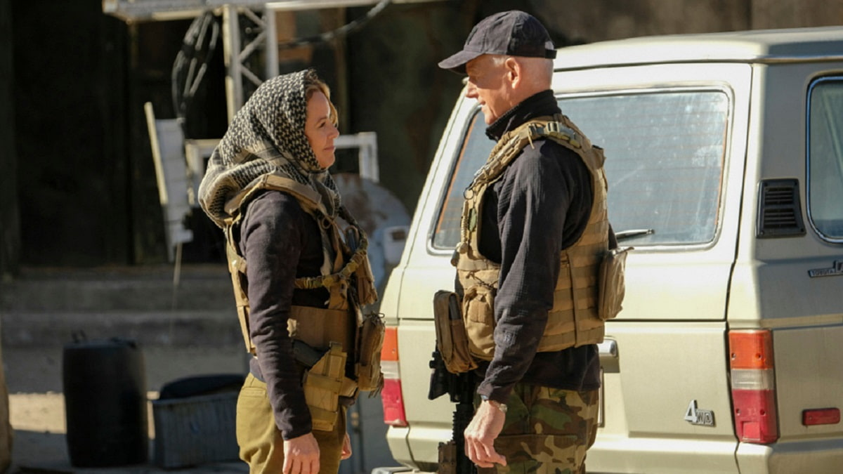 Foto NCIS 18 - Jack Sloane e Jethro Gibbs