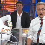 Paolo Bonolis fa cadere Laura Freddi ad Avanti un altro! Pure di sera