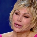 """Oggi è un altro giorno, Carmen Russo piange: """"Maria ci ha riempito la vita"""""""