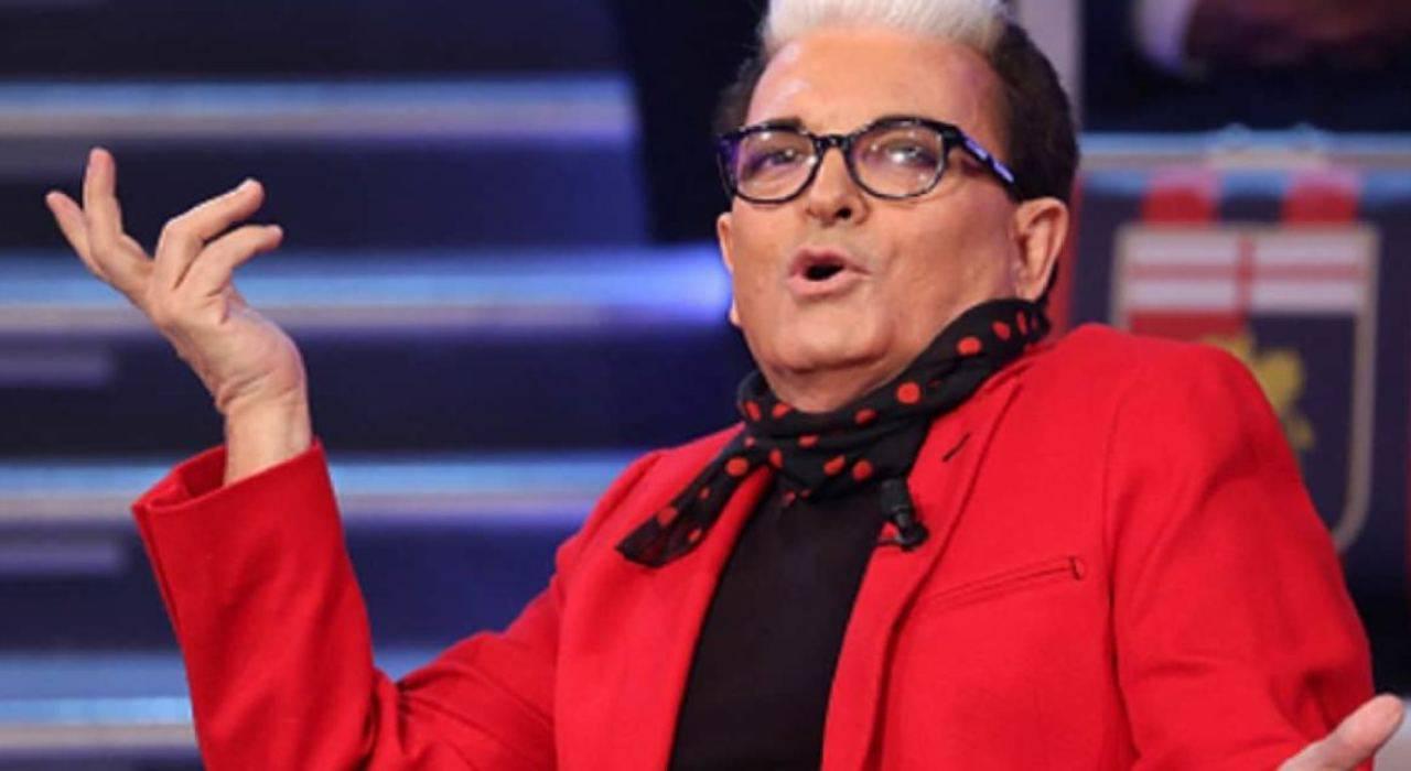 Foto Cristiano Malgioglio Eurovision