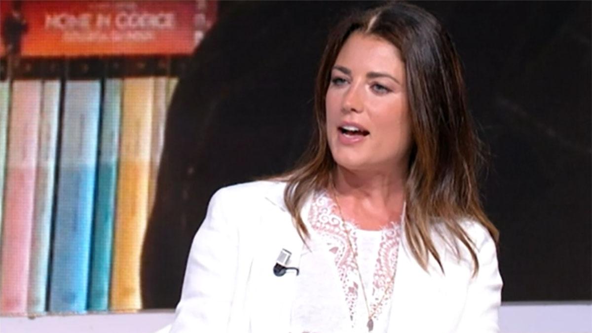 foto Daniela Ferolla a Tv Talk