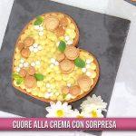 È sempre mezzogiorno: cuore alla crema con sorpresa di Natalia Cattelani