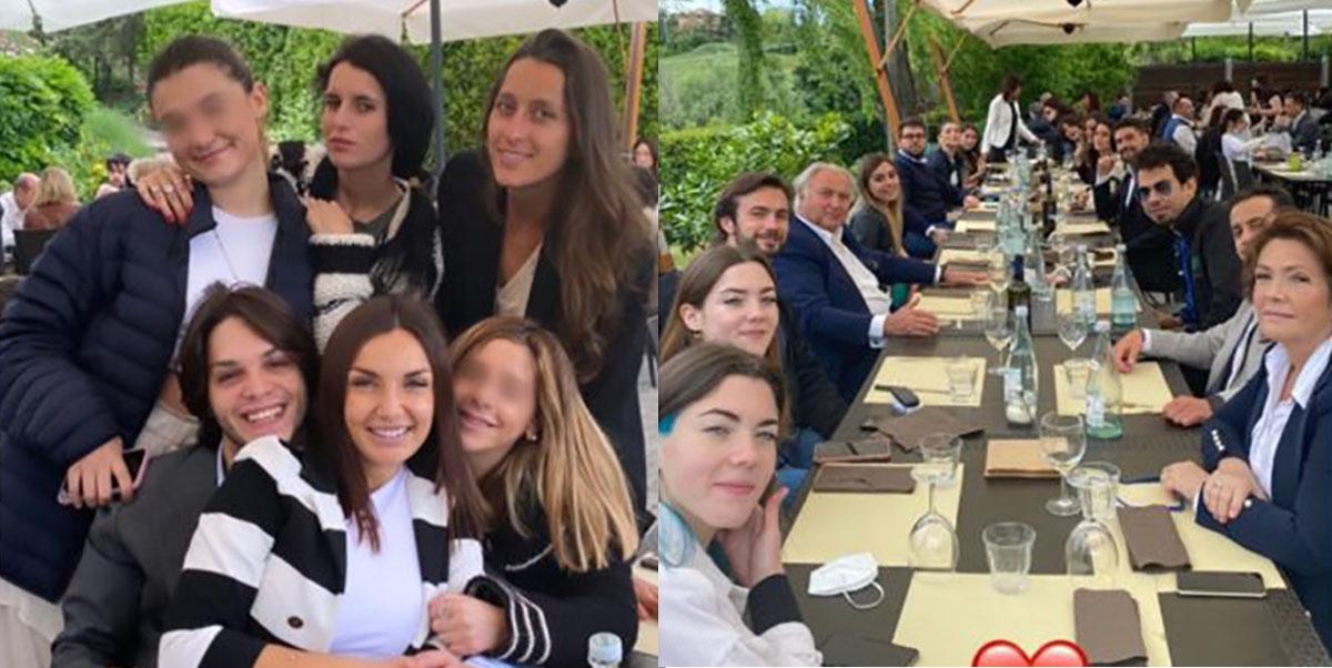 foto festa di compleanno di Elettra Lamborghini