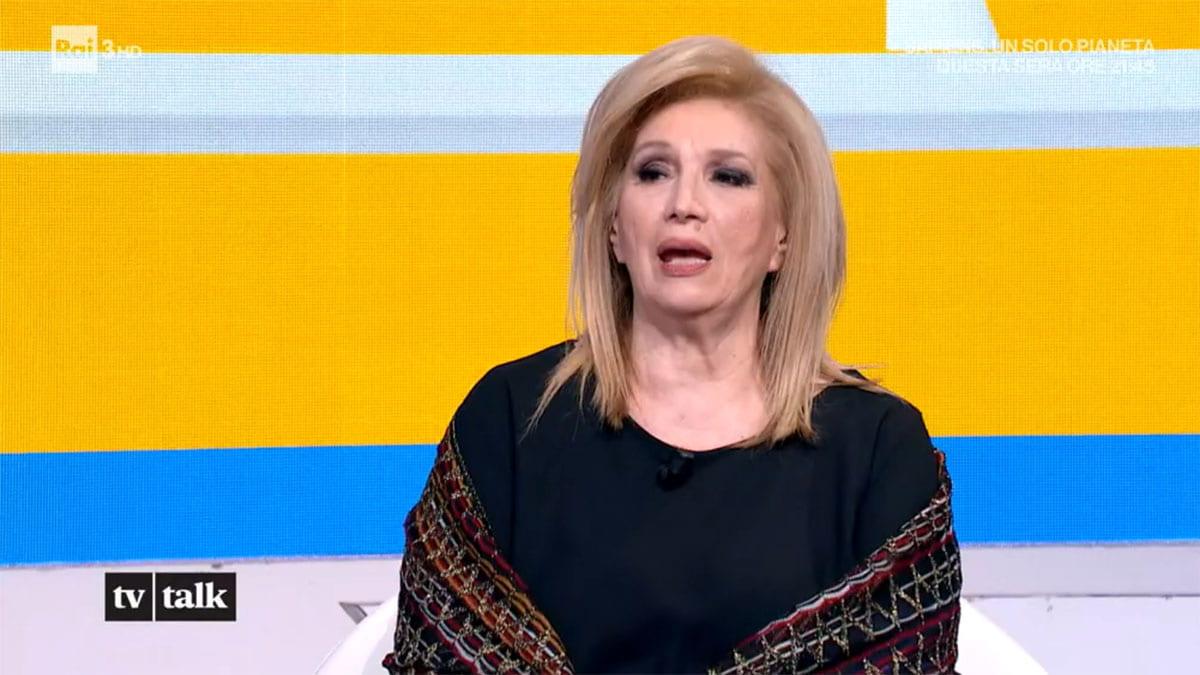 foto Iva Zanicchi a Tv Talk