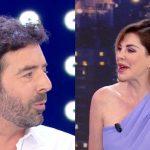 """Alberto Matano sorpreso da Alba Parietti: """"Non so se merito tanta eleganza"""""""