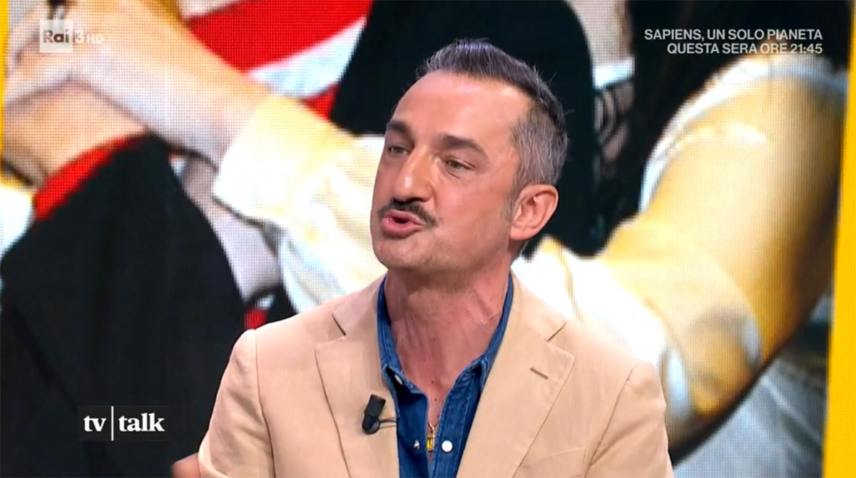foto Nicola Savino a Tv Talk