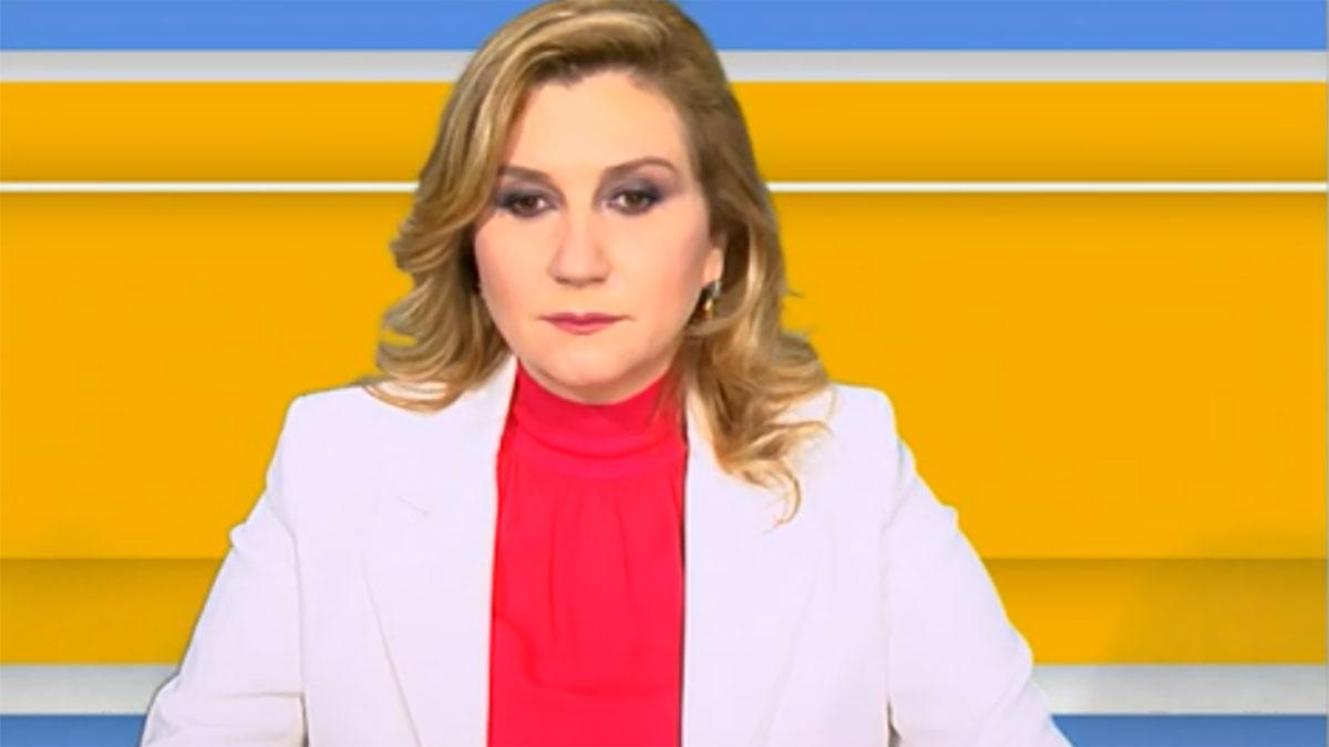 foto Serena Bortone a Tv Talk