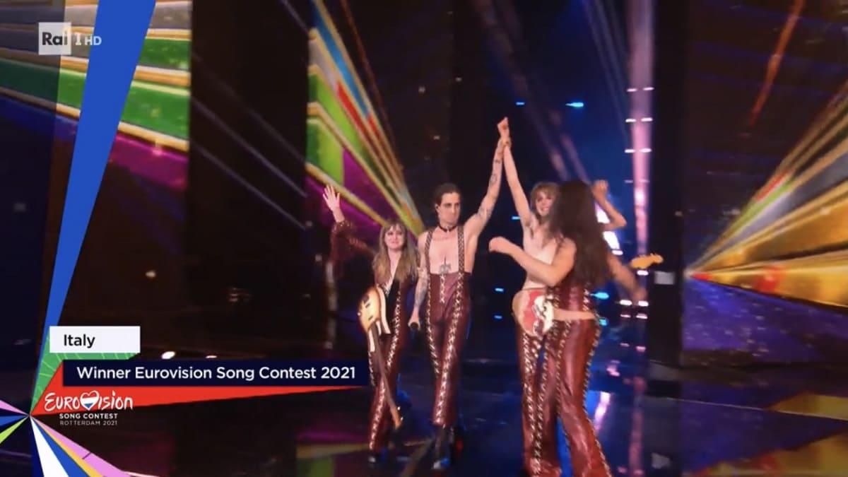 Foto Maneskin Eurovision