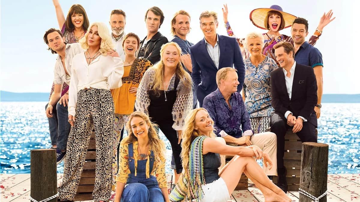 Foto cast Mamma Mia! Ci risiamo