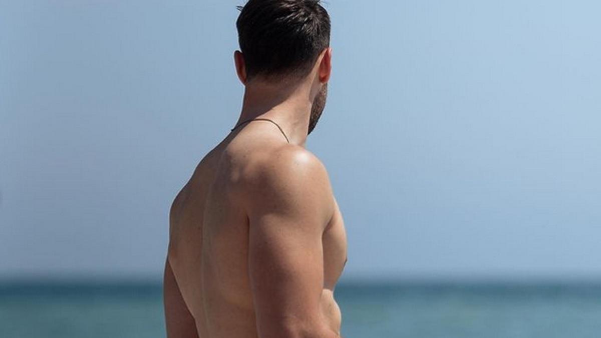 foto Andrea Zenga al mare