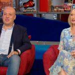 Oggi è un altro giorno: Anna Falchi in Tv con il fratello che ha rischiato la vita