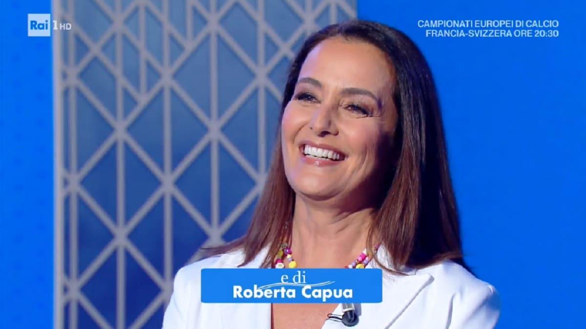 foto di Roberta Capua a Estate in diretta
