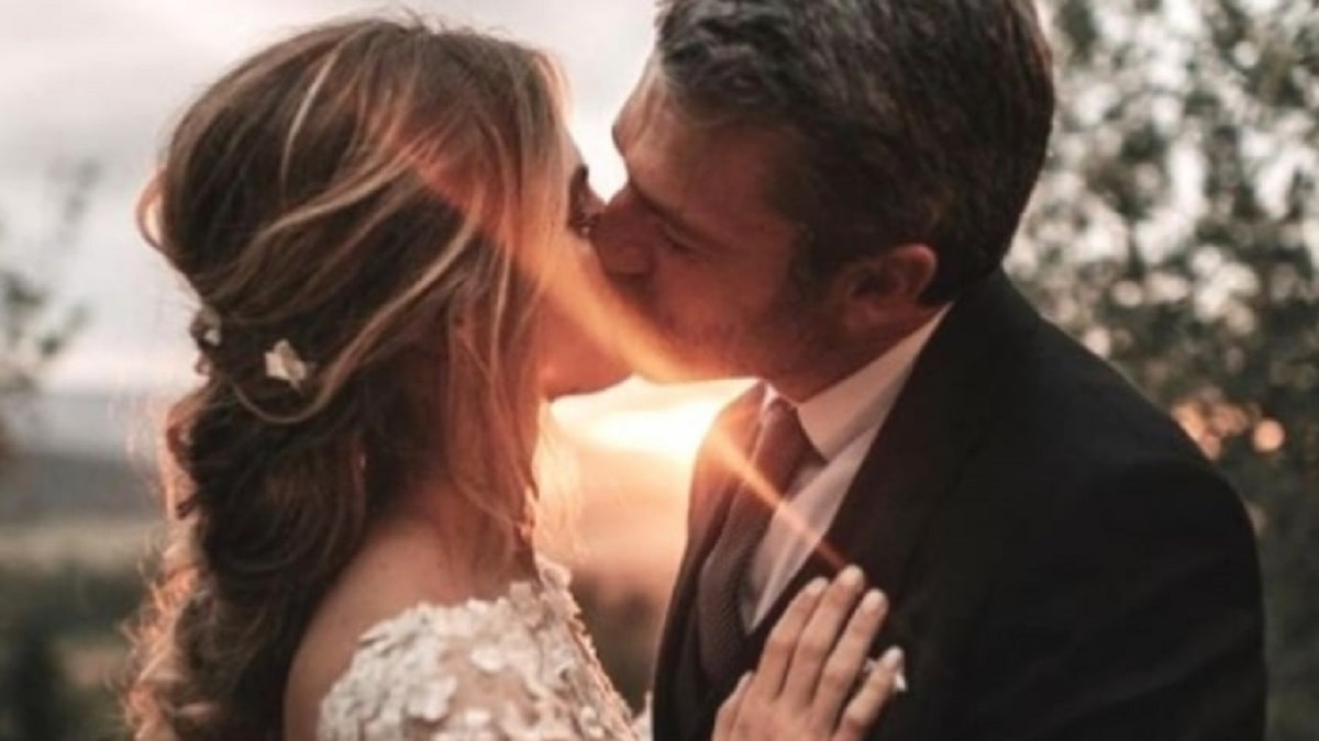 foto Luca Argentero e Cristina Marino sposi