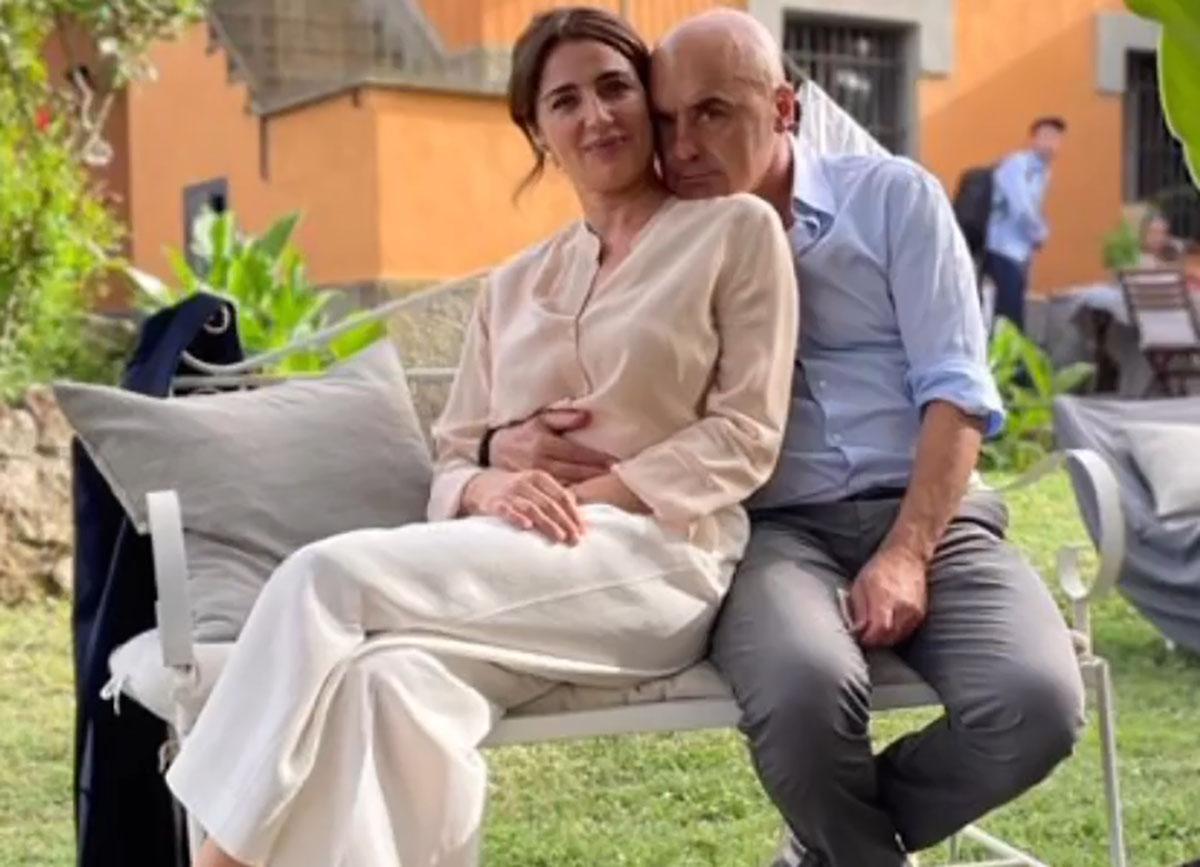 foto Luca Zingaretti e Luisa Ranieri