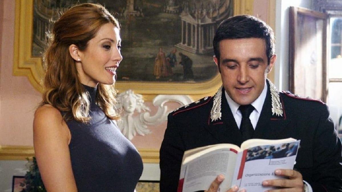 foto di Milena Miconi e Flavio Insinna in Don Matteo