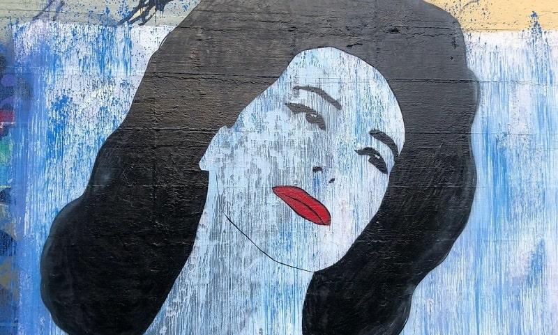 foto murale Barbara d'Urso