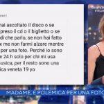 """Madame polemica, Alba Parietti interviene: """"La verità sta nel mezzo"""""""