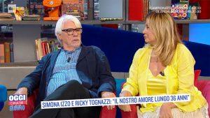foto Ricky Tognazzi e Simona Izzo a Oggi è un altro giorno
