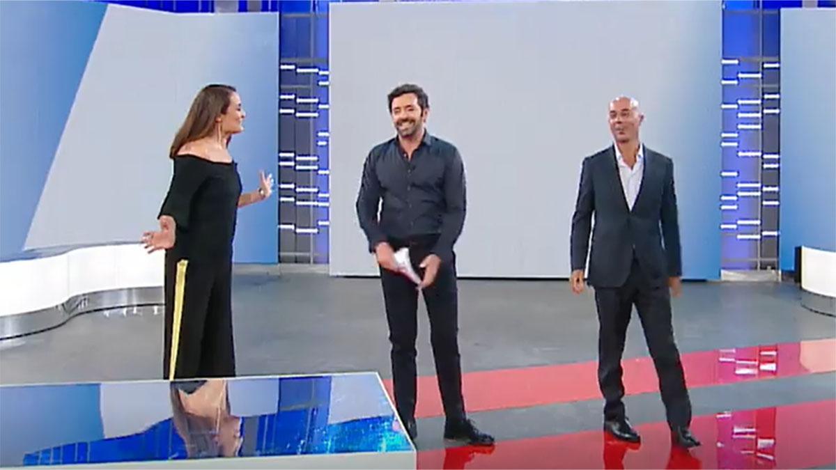 foto Roberta Capua Alberto Matano e Gianluca Semprini
