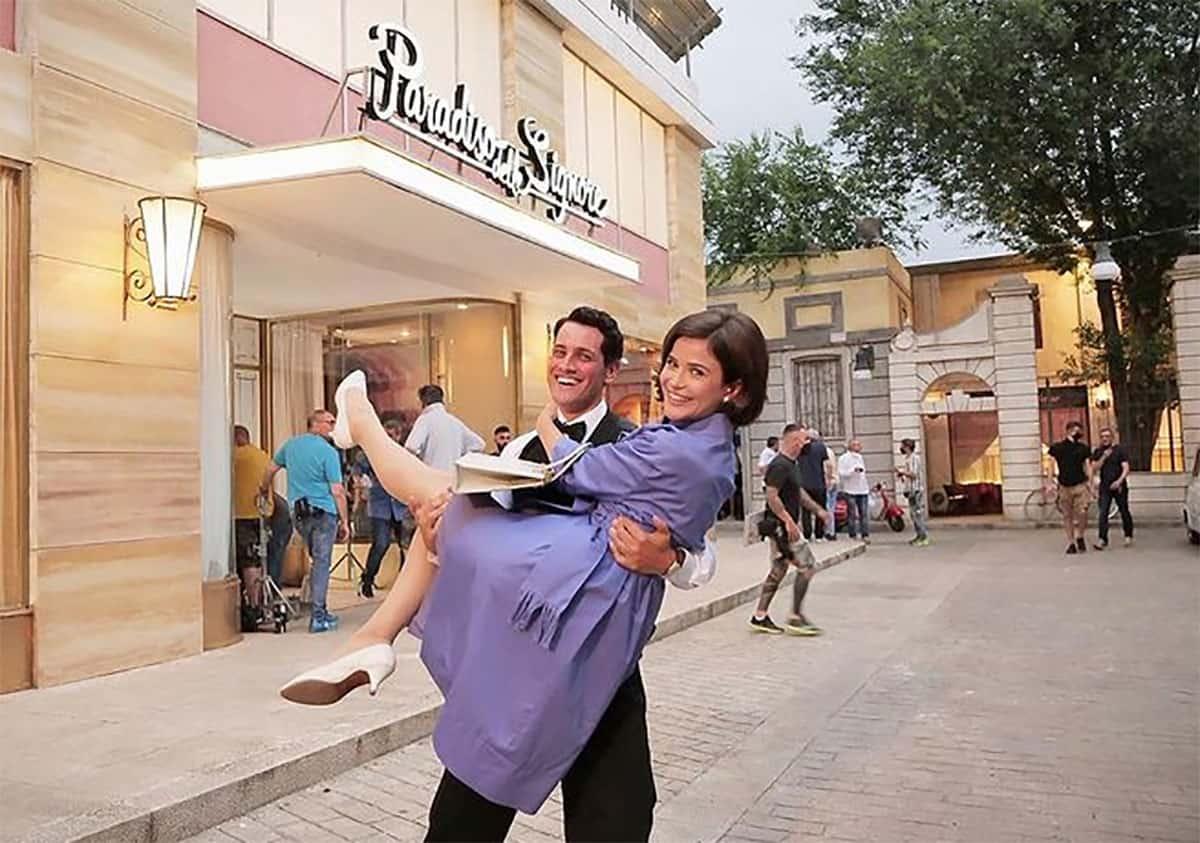 foto Salvatore e Gabriella de Il paradiso delle signore
