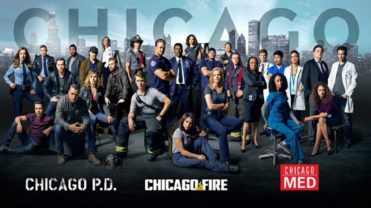 Foto Chicago Fire, Chicago Med e Chicago PD