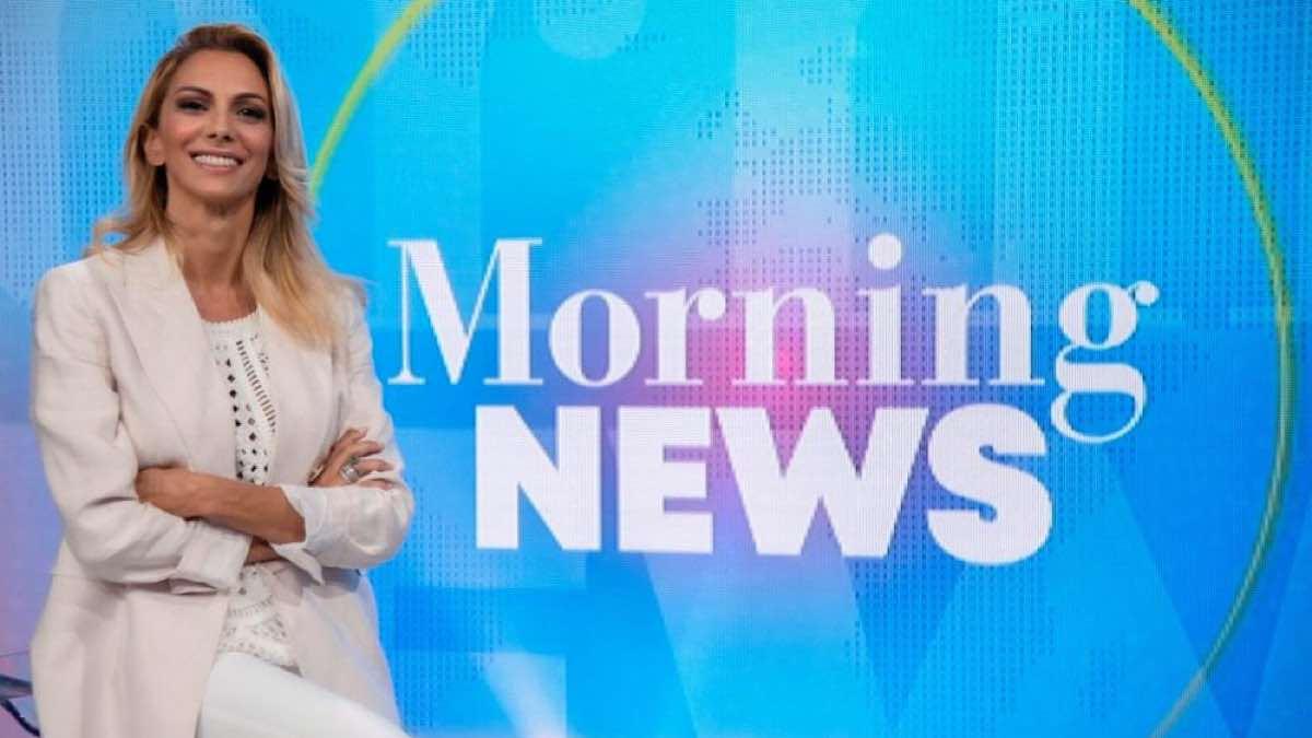 Foto Morning News successo Simona Branchetti